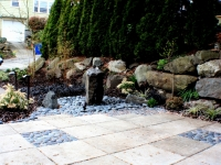 Patio & Water Feature